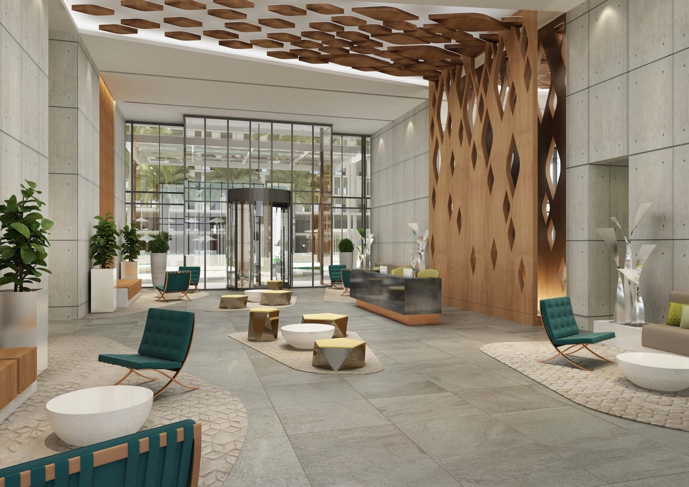 Marriott Courtyard & Residence – U+A Architecture ...
